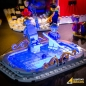 Preview: LED-Beleuchtungs-Set für LEGO® Winter Village Fire Station #10263
