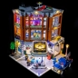 Preview: LED-Beleuchtungs-Set für LEGO® Eckgarage / Corner Garage #10264