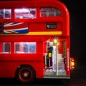 Mobile Preview: LED-Beleuchtungs-Set für London Bus 10258