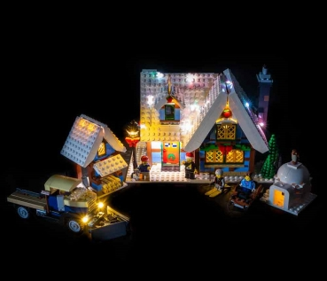 LED-Beleuchtungs-Set für LEGO® Winter Village Cottage #10229