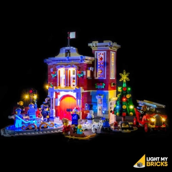 LED-Beleuchtungs-Set für LEGO® Winter Village Fire Station - Feuerwache #10263