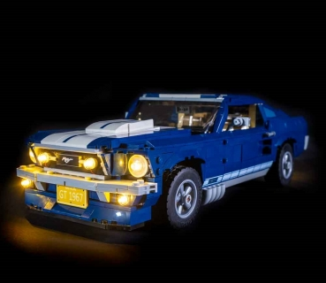 LED-Beleuchtungs-Set für LEGO® Ford Mustang 10265