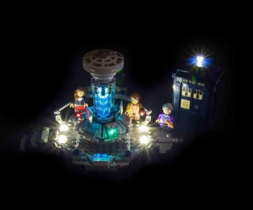 LED-Beleuchtungs-Set für LEGO® Dr Who #21304