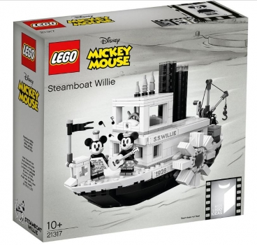 LEGO® Ideas Steamboat Willie #21317