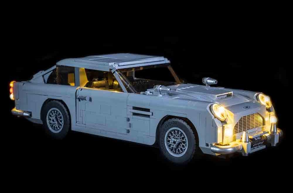 Illuminate Your Bricks Led Beleuchtungs Set Für Lego 10262 James Bond Aston Martin Db5