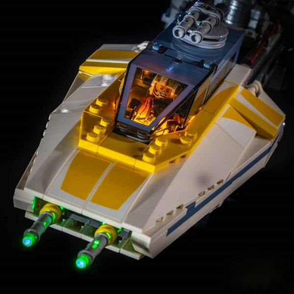 LED-Beleuchtungs-Set für LEGO® UCS Y-Wing Starfighter #75181