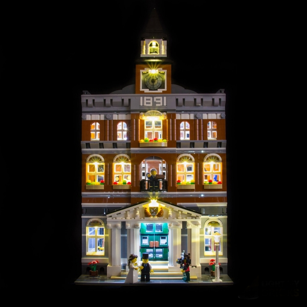 LED-Beleuchtungs-Set für LEGO® Town Hall 10224