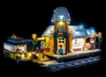 LED-Beleuchtungs-Set für LEGO® Winter Village Station #10259